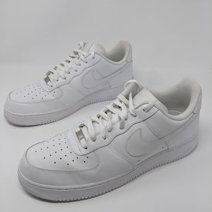 Nike air Force 1 white size 14